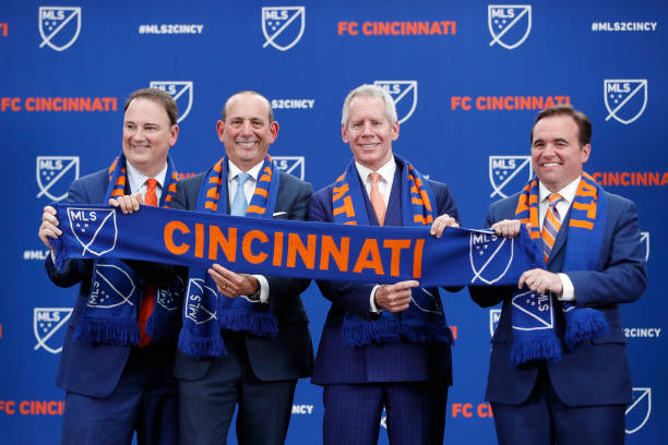 FC Cincinnati is the newest club to join MLS