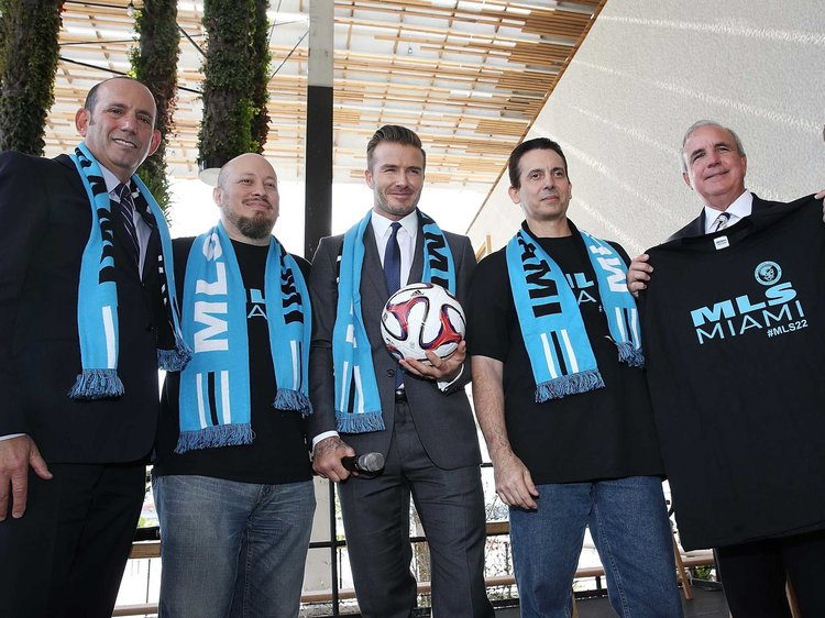 Inter Miami CF, partially owned by David Beckham, will begin play in 2020