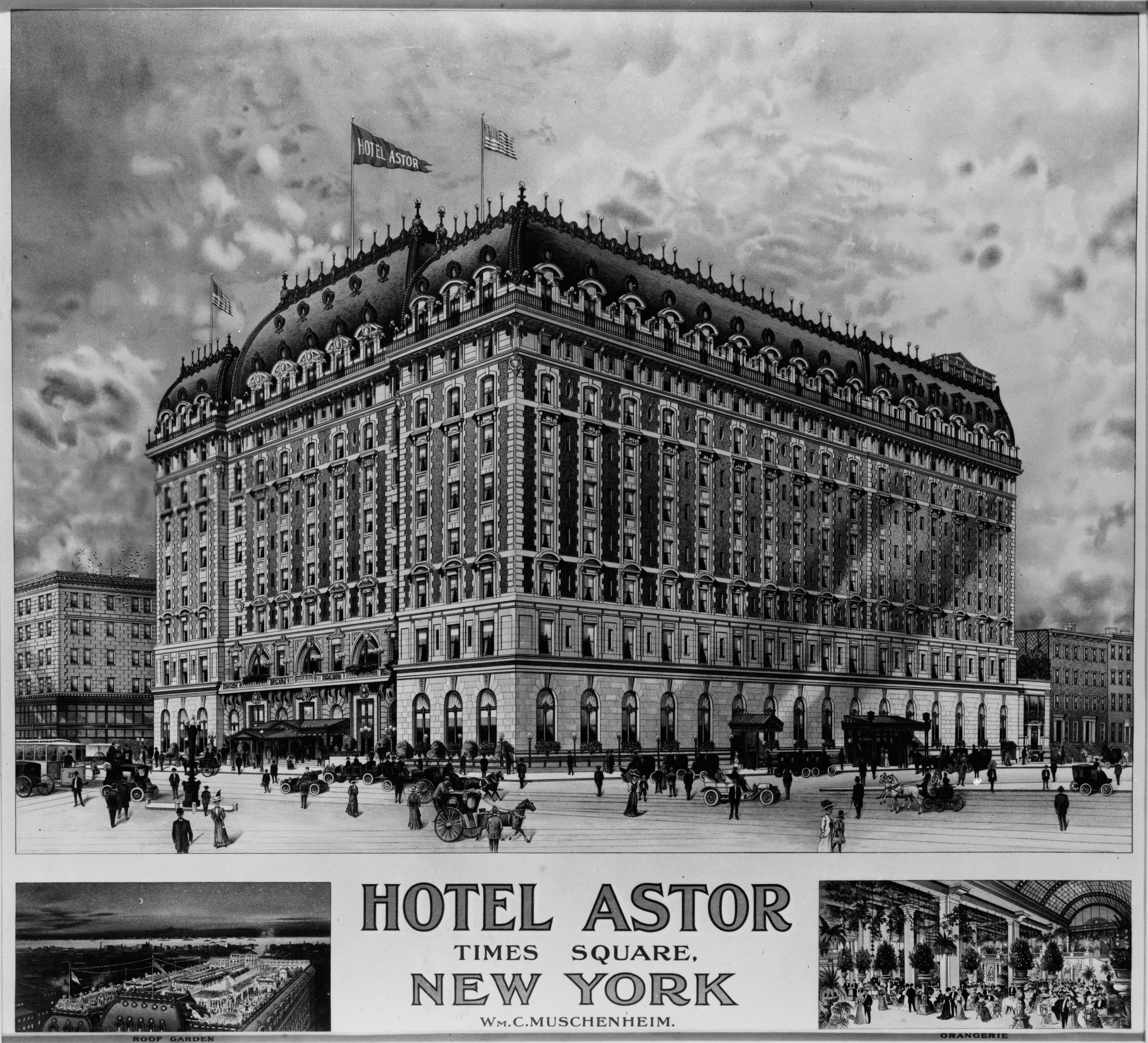 The first American Soccer League was formed by club owners in 1921 at the Hotel Astor in Manhattan