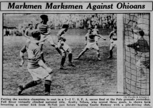 The Fall River Marksmen played in the original American Soccer League