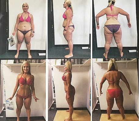 """Lizzy Dervin's 12 Week Body Transformation - 2nd Place 2017 """"Best of the Burgh""""Within the last 12 weeks, I've worked harder than I've ever worked in my life. From food shopping, meal prepping, lifting and doing tons of cardio, my lifestyle has changed. Much of my time is devoted to achieving health, fitness and body goals. The results shown here are a dream come true for me. Everyday that I do something healthy for my body, it is a victory against every person who ever said I wasn't worthy, wasn't capable or that I would never be able to achieve greatness. When transforming your body, you are telling those around you and yourself that the impossible is possible through hard work, dedication, sweat and perseverance. Standing before you 100 pounds less from where I started last March, 30 pounds less from where I was 12 weeks ago is proof that anyone can rise from the ashes.I would like to thank my trainer Stasi Longo for educating me to succeed and most importantly, believing in me when I had given up hope. All too often, you see an unfit obese person before you see the potential that person could have to become great. Stasi saw me at 260 pounds for the potential I could have and has helped me to transform my figure since August. She has helped me overcome many of my obstacles making me a better version of myself. Stasi has given me the gift of transformation and I couldn't be more grateful for her guidance and expertise throughout this journey."""