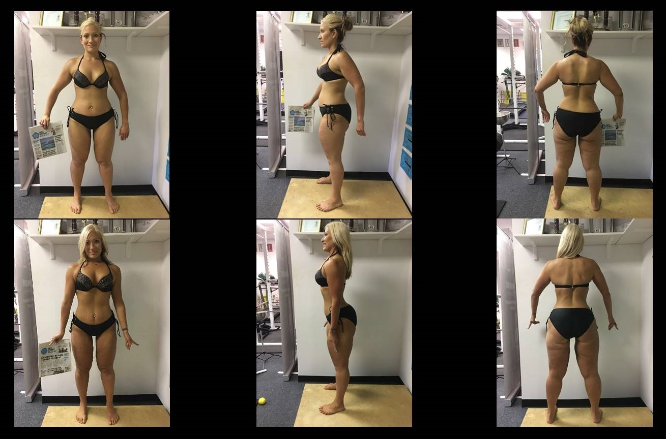 Lizzie Dervin's Second 12 Week Body Transformation Challenge - Throughout the course of my life, I have endured criticism, bullying and was made to feel like I was less than because I didn't fit the cookie-cutter image of what a woman should look like. Now that I found my fire I realize that I was uniquely special with a fire brewing inside of me waiting to break out. I never stopped. I never let anybody's words affect me. I believed in myself more than anyone could have believed me. I'm here to tell you that each and everyone of you have that fire inside of you but it is up to you to find it and conquer your goals.I stand here today with amazingly successful people who have inspiring stories to tell. These people motivated me to keep going even when I thought that I would not pull this transformation off. I want to thank them for helping me to push through. I also want to thank my trainer who has watched me lose 125 lb in the last year. She has taught me everything I know and has helped me attain a physique that at 310 lbs, would have seemed impossible to achieve.This transformation has taught me that even when you lose your fire, you are the only one who can rise up and let the flames of your glory conquer your goals.