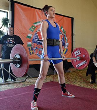 """Farah Robbins - Congrats to Sonshiner Farah Robbins who competed in her first powerlifting meet and made the Erie Times while pulling her """"1st Attempt' lift! Way to go Farah!!!"""