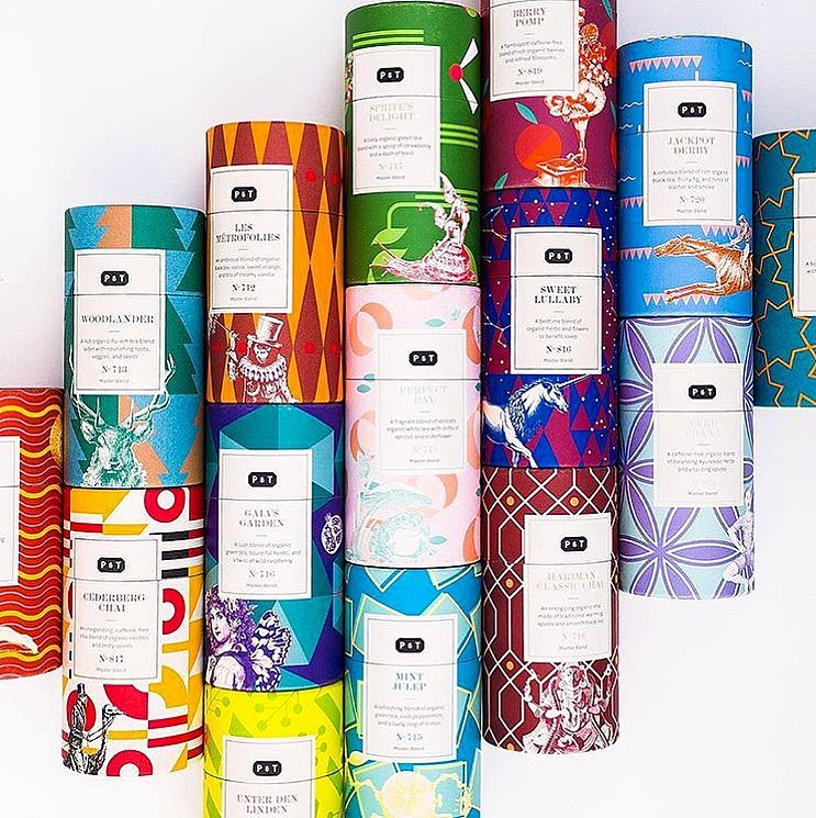 Graphic (and tasty) teas!