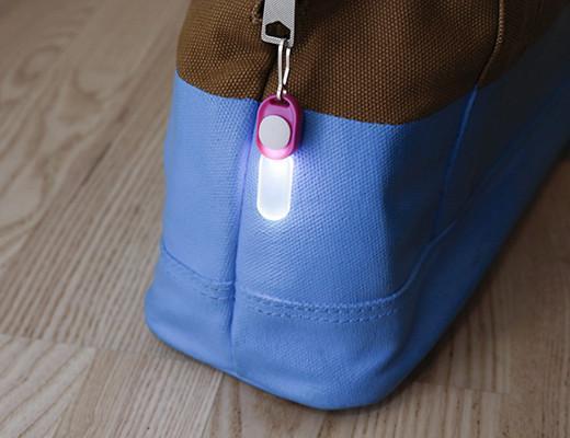 LED zipper light!