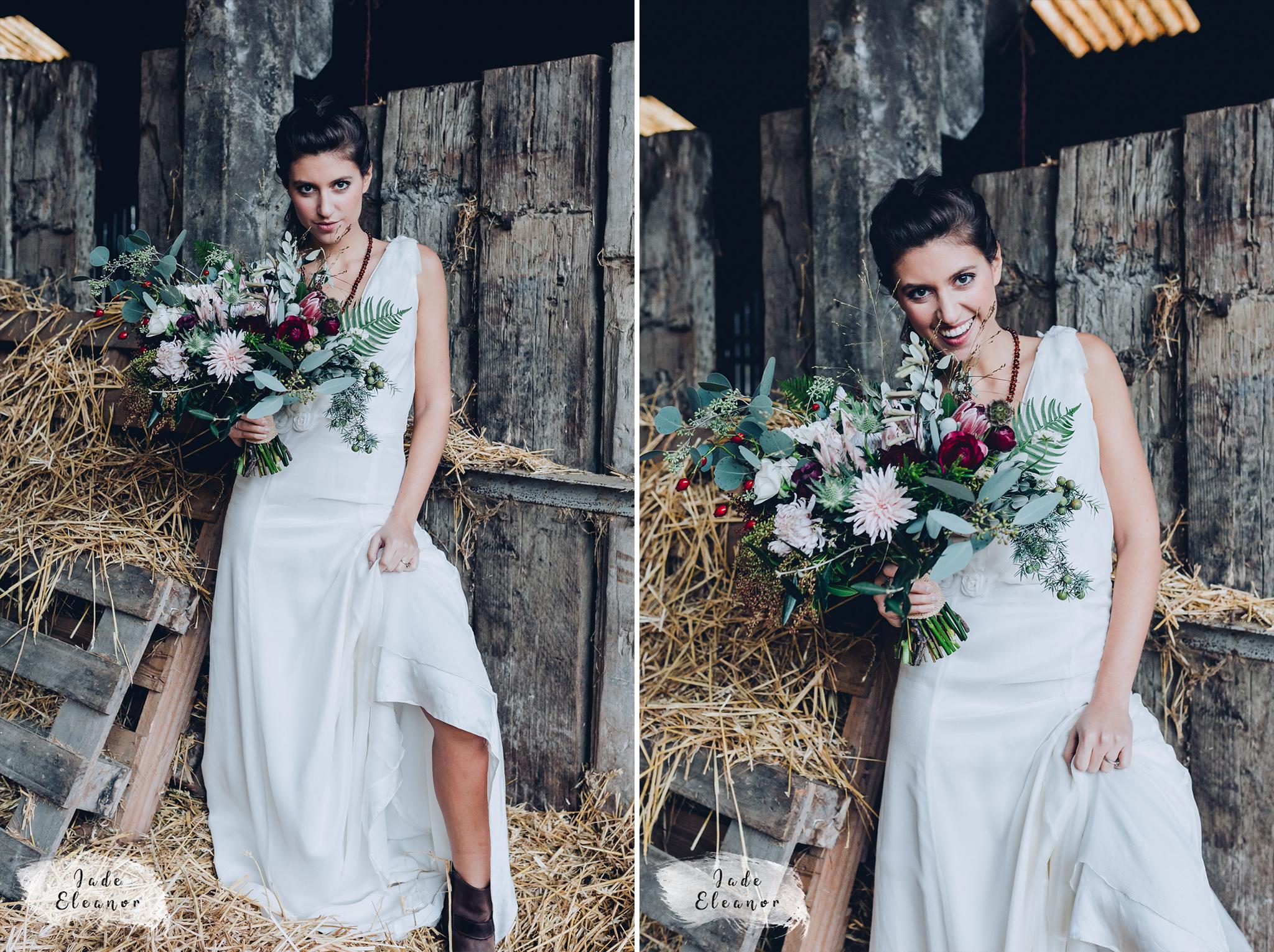 Bysshe Court Barn Wedding Jade Eleanor Photography 15&16.jpg