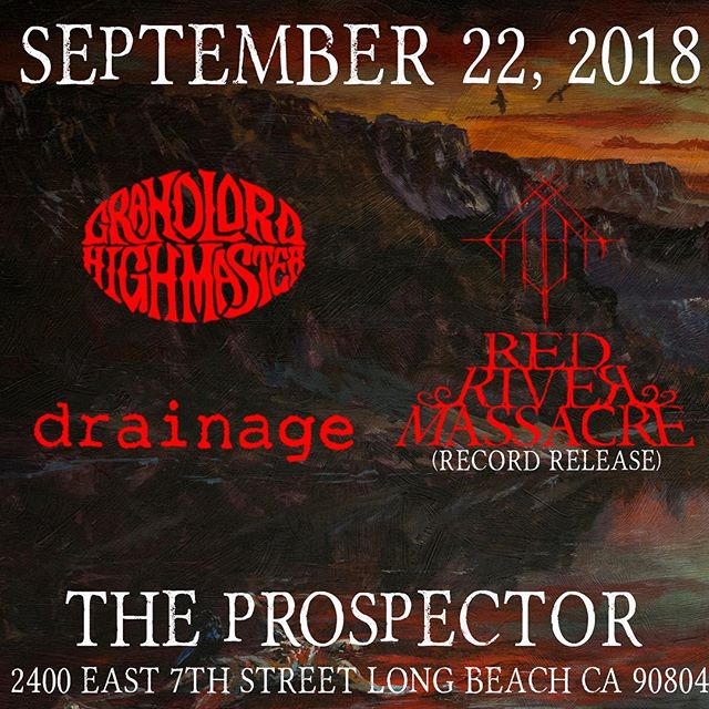 Just added @dr_ainage to the lineup. Don't miss this show. It's gonna rip.