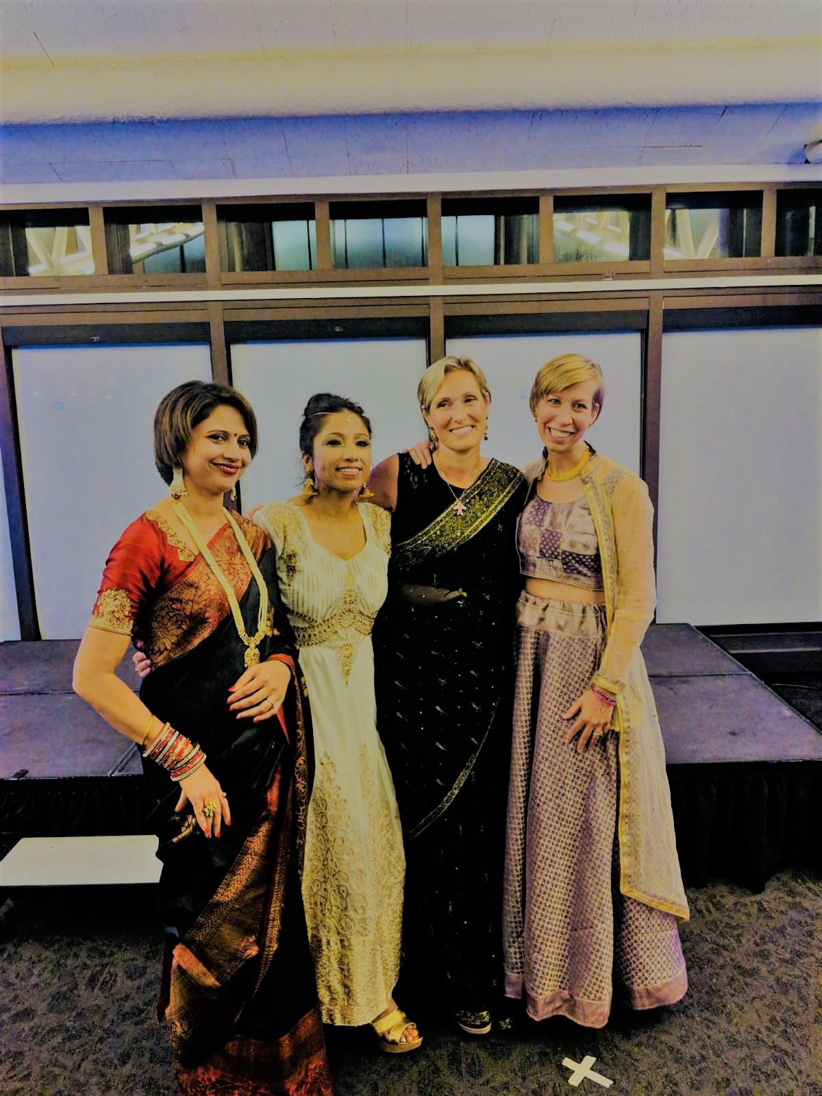 L to R: Richa Khandelwal, Lopa Das Roy, Evey Cormican, Christine Post