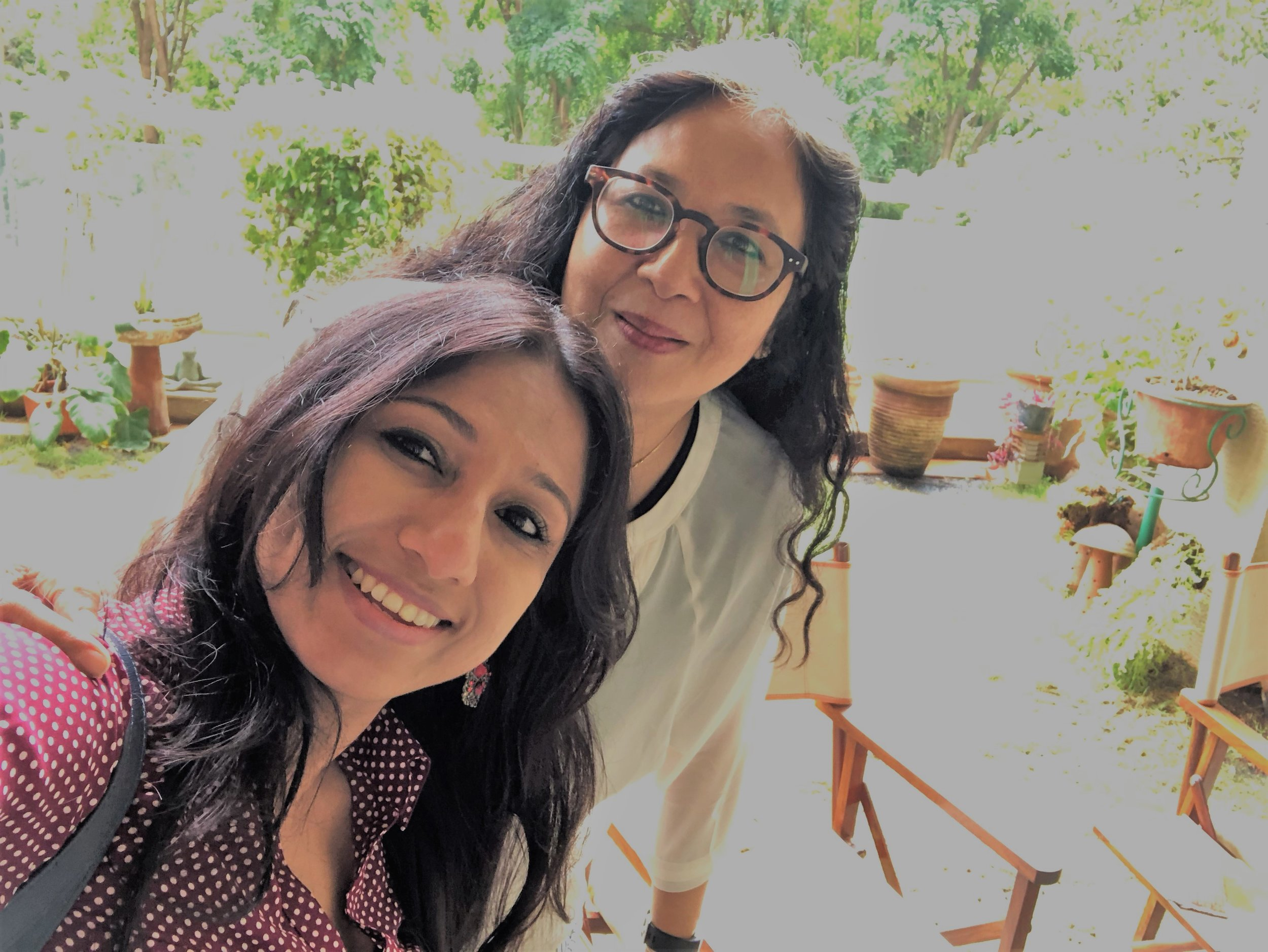 One on One Meeting with Mrs. Savitri Choudhury— Major Deepshikha Gupta introduced me to Mrs. Sabi Chhatwal. It was an honor meeting such an inspirational person as Sabi who is originally from Assam. Sabi is going to connect me with her network who she feels will be very impactful.