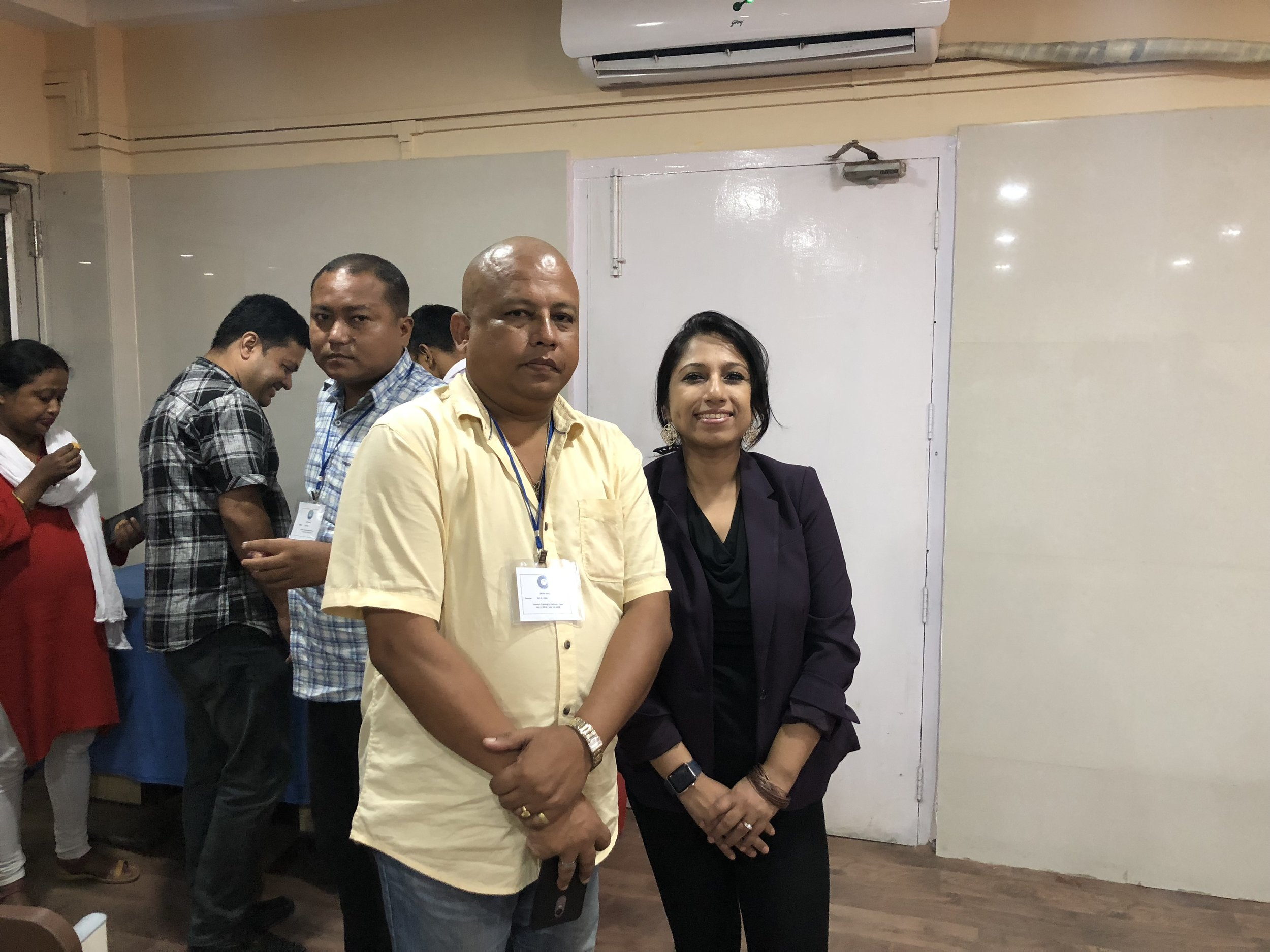 Thanks to Dr. H. K Das, Assistant Director (Public Health), ICMR (Indian Council of Medical Research) RMRC, NE Region, MoHFW, Govt of India, Dibrugar, Assam for coming forward and inviting me to ICMR, Dibrugarh on 20th July, 2018 to present and collaborate. Sincerely appreciate!