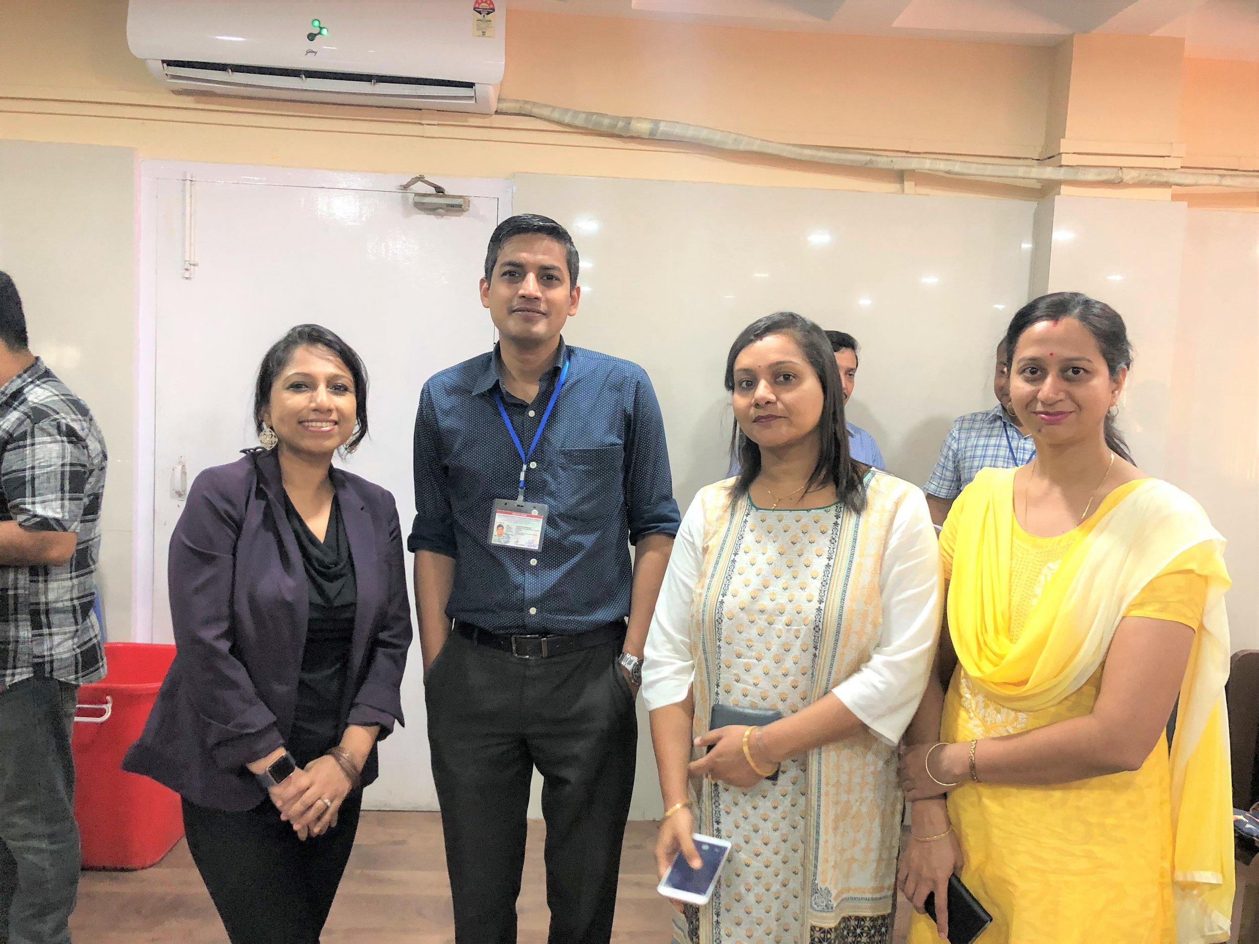 R to L: Dr. Nizara Baishya, Research Scientist, Mrs. Arpita Sharma, Computer Programmer of Population Cancer Registry, Dr. M. Krishnatreya, Medical Officer, Cancer Registry and Epidemiology