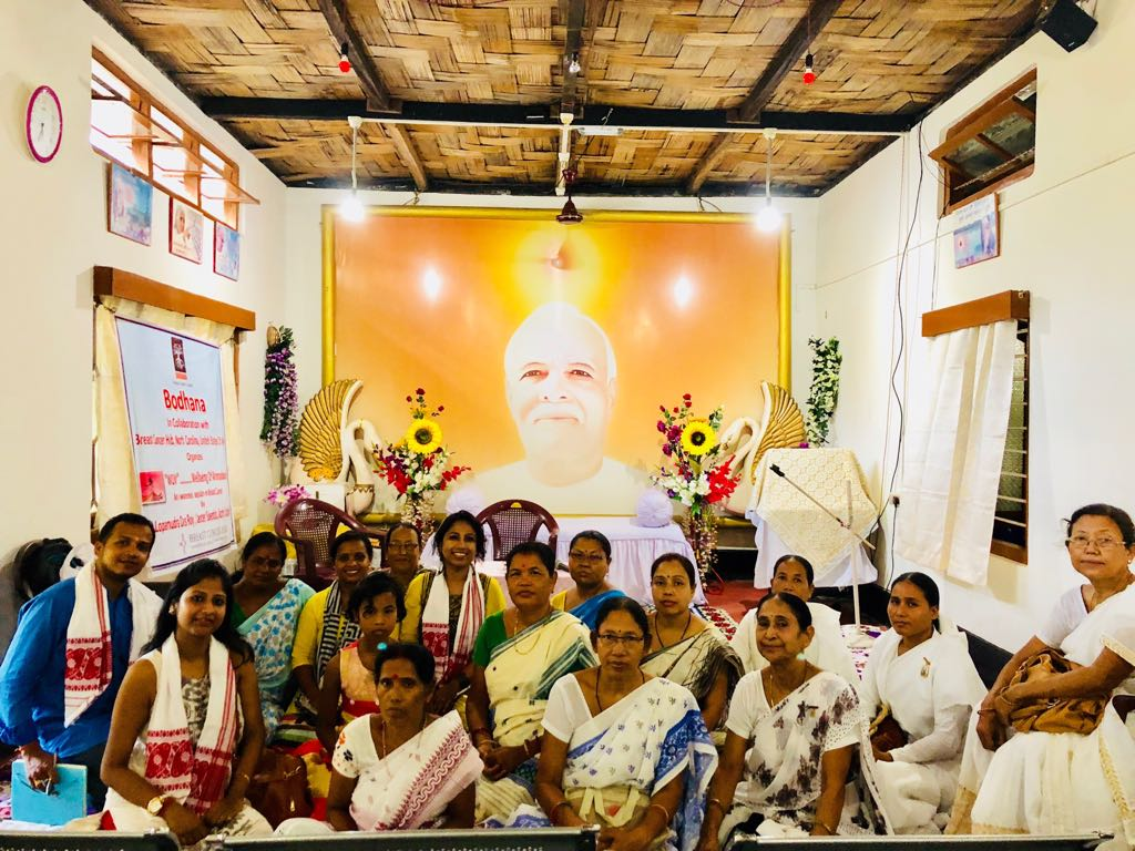Event in Sonapur organized by Bodhana where I spoke about Early detection, why we need to break the taboo & come out of shyness and understand the importance of Breast health