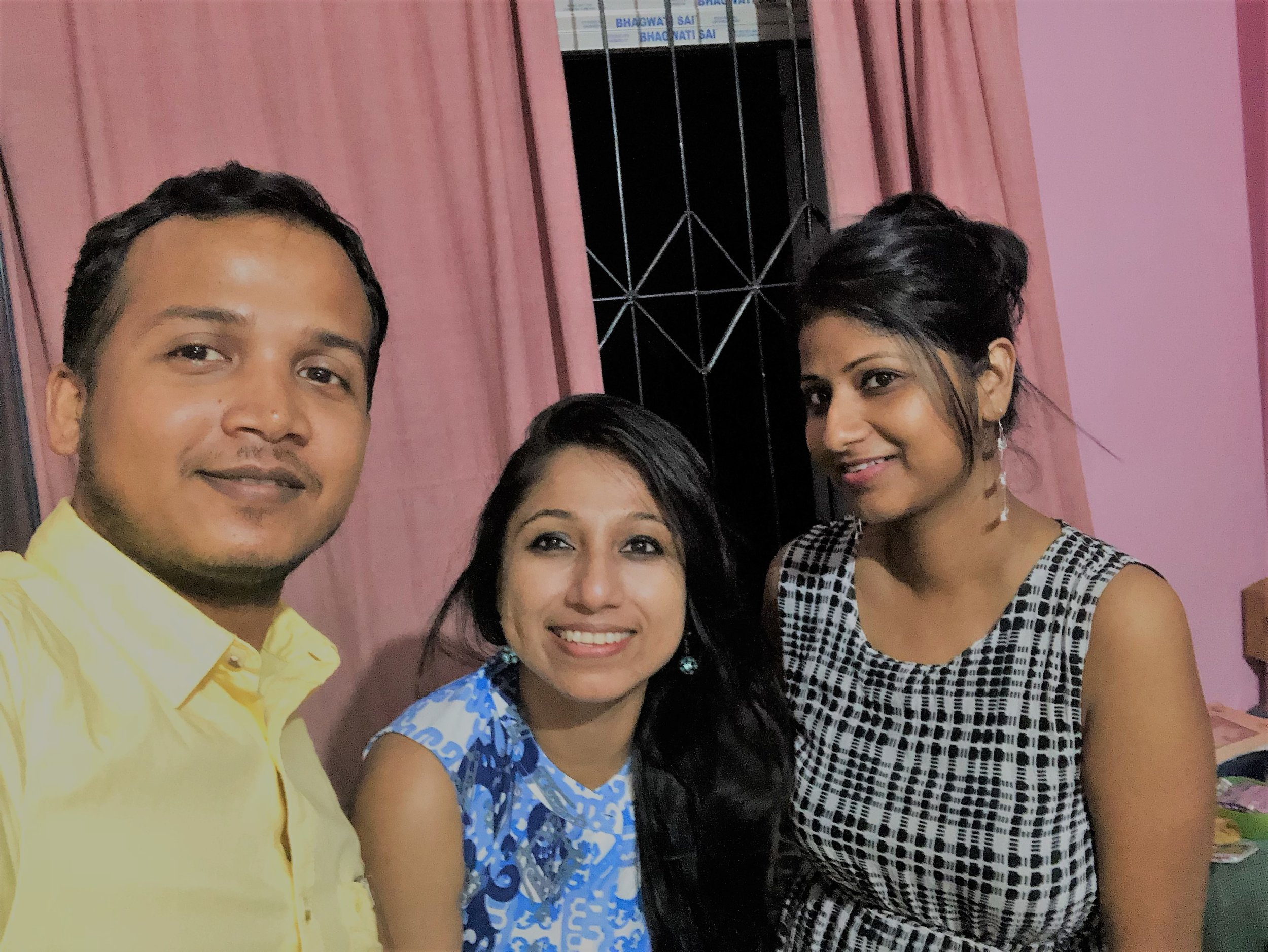 I am so thankful to Dr. Ishita Deb, Mr. Shantanu Paul, for my accommodation in their home in Guwahati and for all their love and affection!