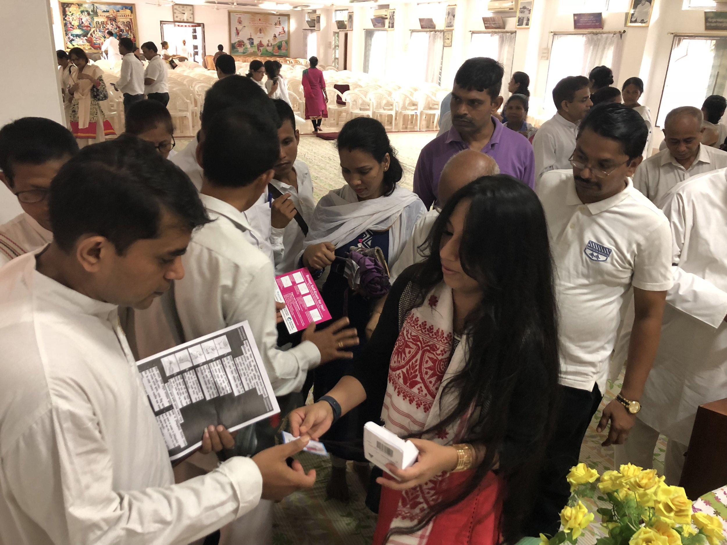 Event: Organized by Bodhana at Prajapati Brahma Kumaris, Guwahati. Great response and initiative to learn about Breast health!