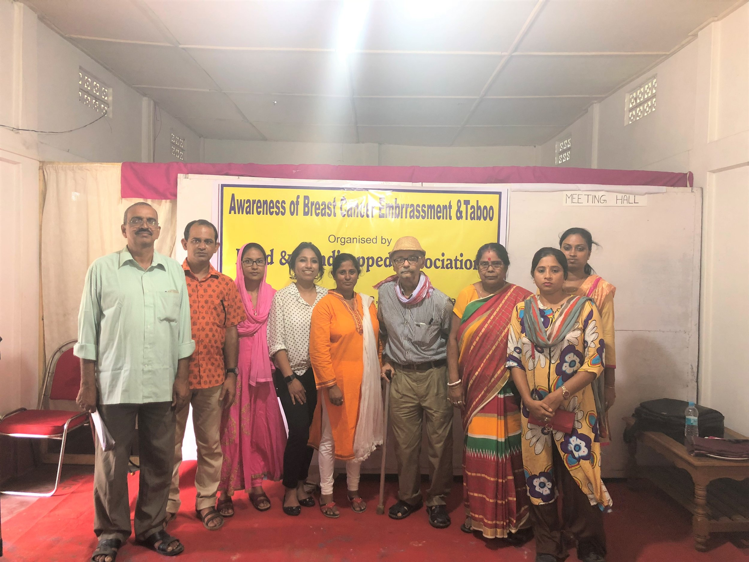 Thank you Blind & Handicapped assocaition for organizing the event and sincerely thankful to you all for coming forward to collaborate!