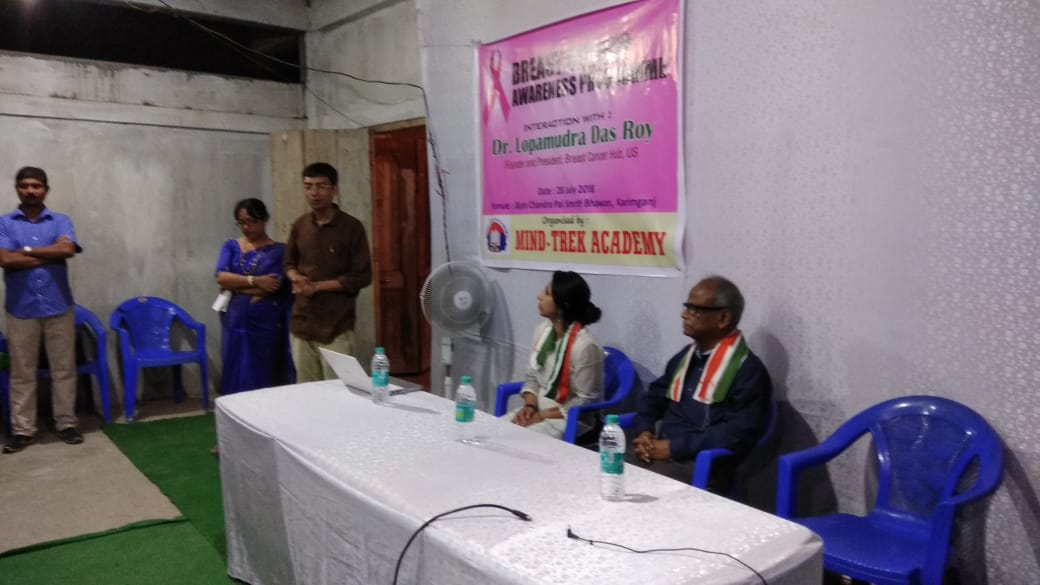 It was an honor and privilege to be together with my father Dr. C. S. Das, Retired HOD, Dept of Pediatrics, Silchar Medical College and now Senior Consultant, addressing the event. I am so thankful to Dr. C.S Das (my father) for connecting me to Dr. Sabyasachi Roy and Mr. Anirban Dey who organized the awareness program on 28th July 2018 in association with Mind-Trek Academy. Sincerely appreciate your efforts and supporting the cause!