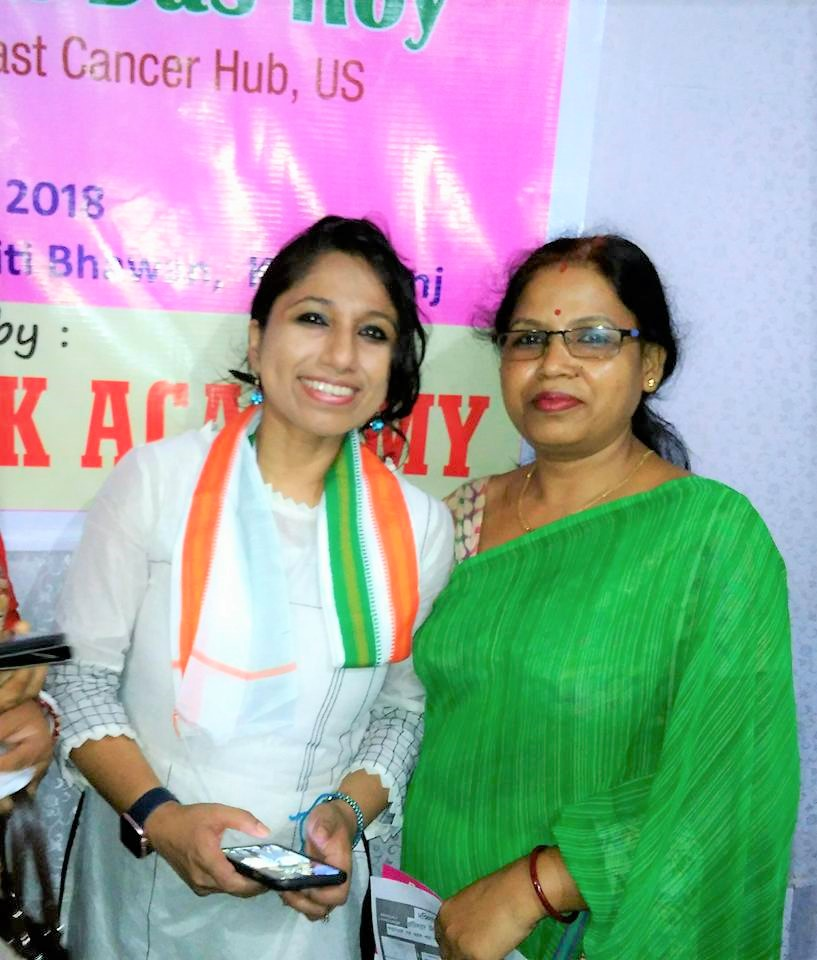 Thanks to Mrs. Jhuma Das (who I met for the first time) for coming forward and connecting with Hailakandi Innerwheel Rotary Club and inviting for the outreach in Hailakandi