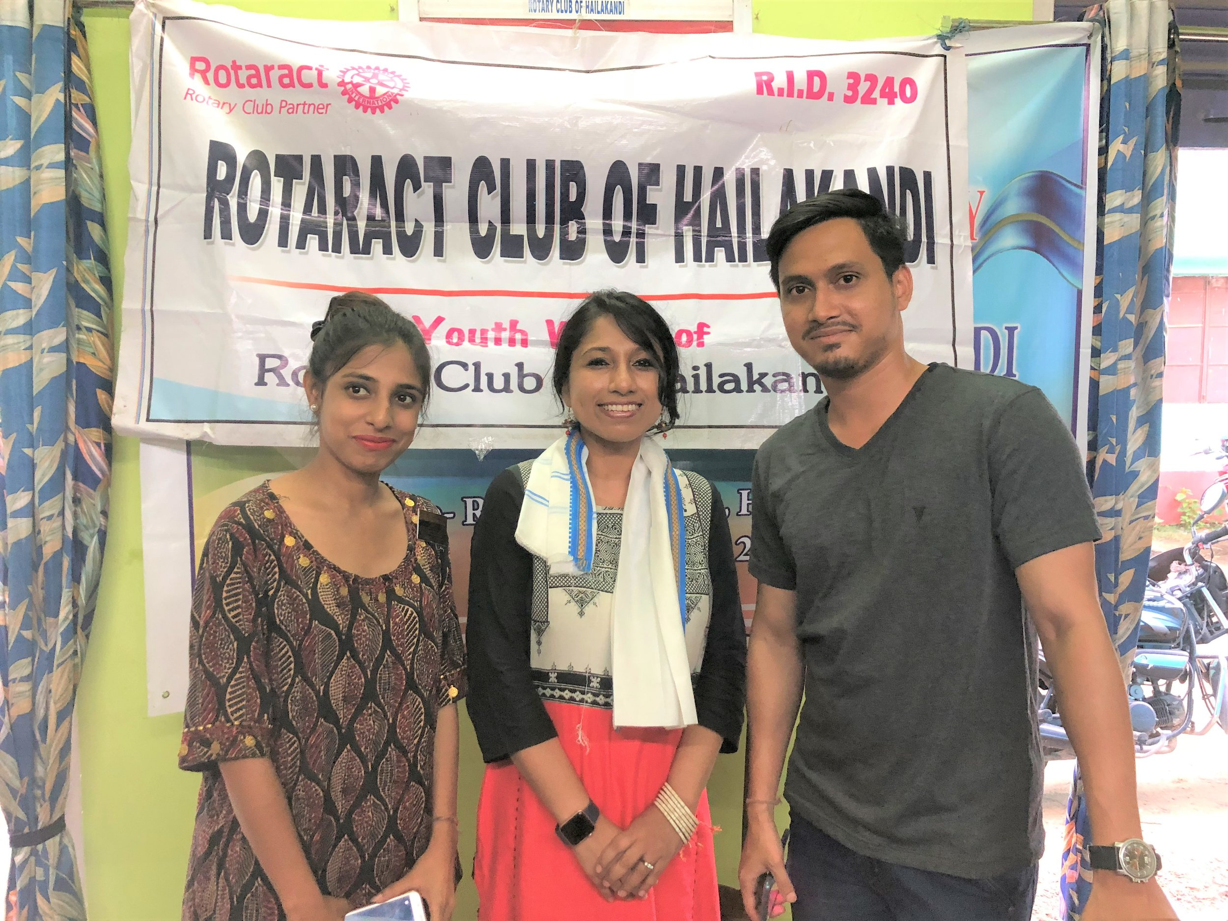Amazed by the young generation coming up.... thanks to the Rotaract club of Hailakandi!
