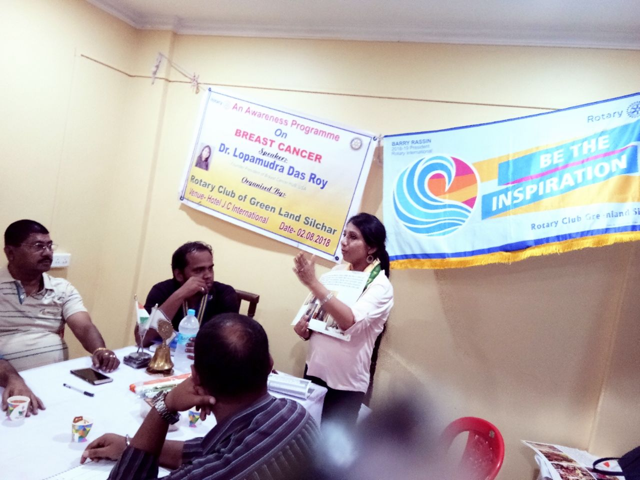 The session went on very well, with audience very receptive and many interested to take the messages forward. Thanks to Mr. Sandip Singh Walia who came forward after the session and invited me for an event in the Sikh community on 14th August. Sincerely thankful to Ms Satakshi Bhattacharjee and Mr. Ashim Bhattacharjee for supporting the cause!