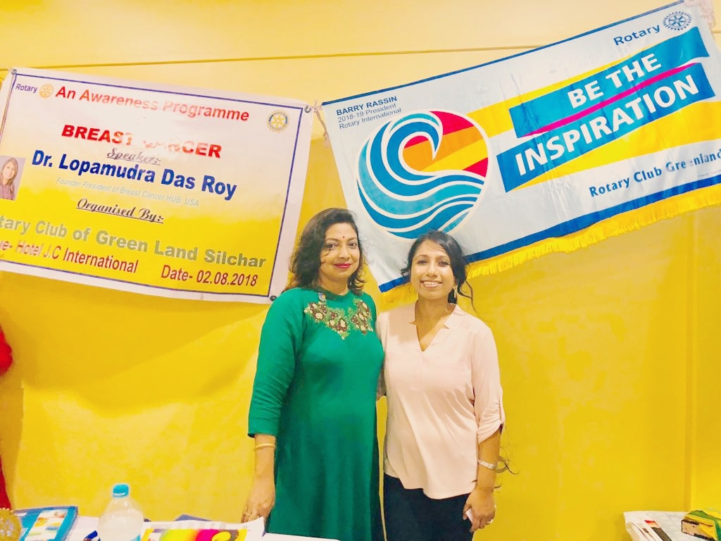 Sincerely grateful to Mrs. Madhumita Paul, President, Rotary Club of Green Land Silchar, for coming forward and organizing the awareness program.