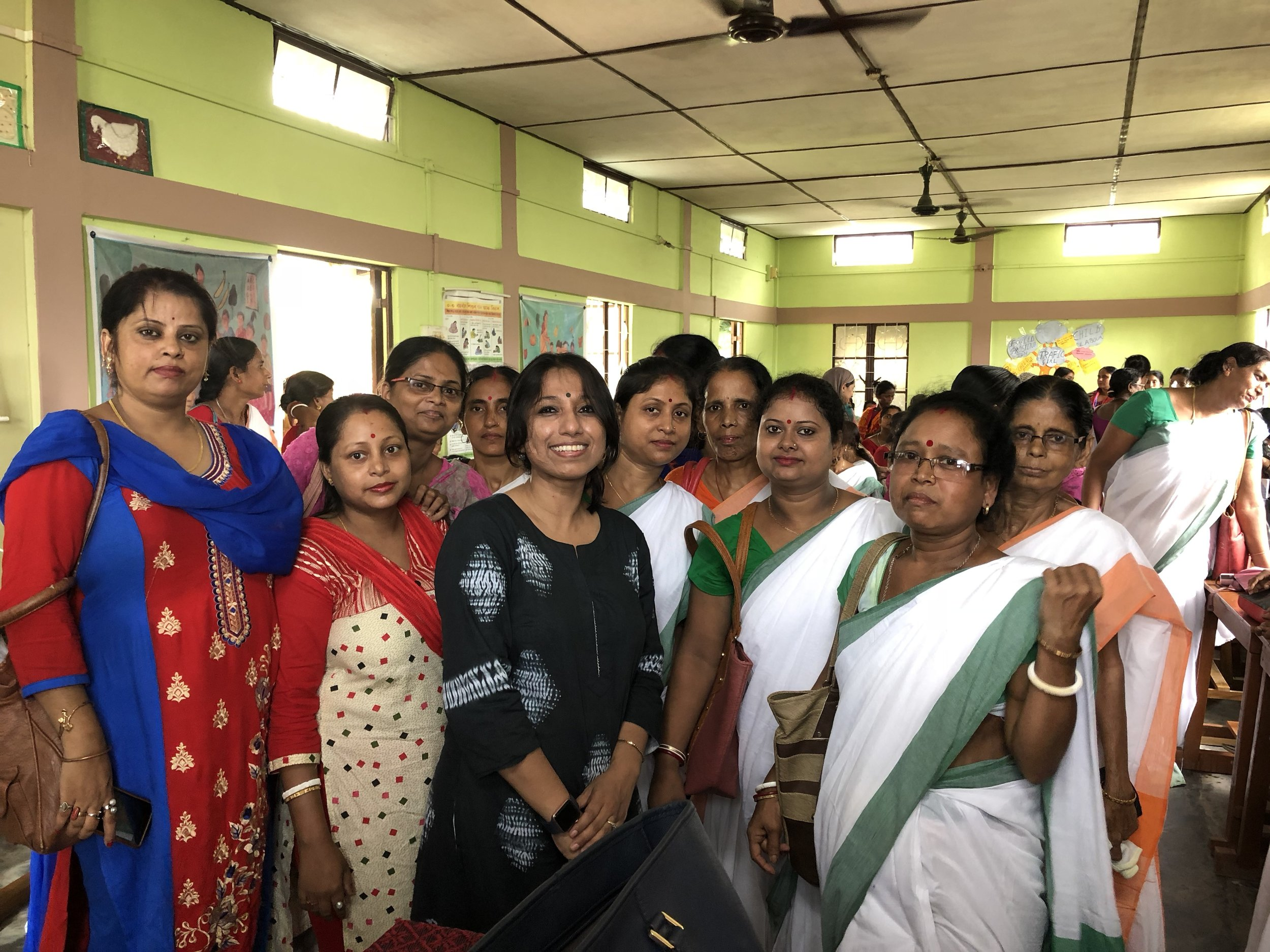To note, many women came forward with issues about Breast health, they themselves suffering or their families going through the same but not opening up or visiting doctors - they were not aware that lumps, discharges were signs & may be Breast cancer & could cause death. An immensely rewarding session, with many women speaking up about their concerns after my presentation.