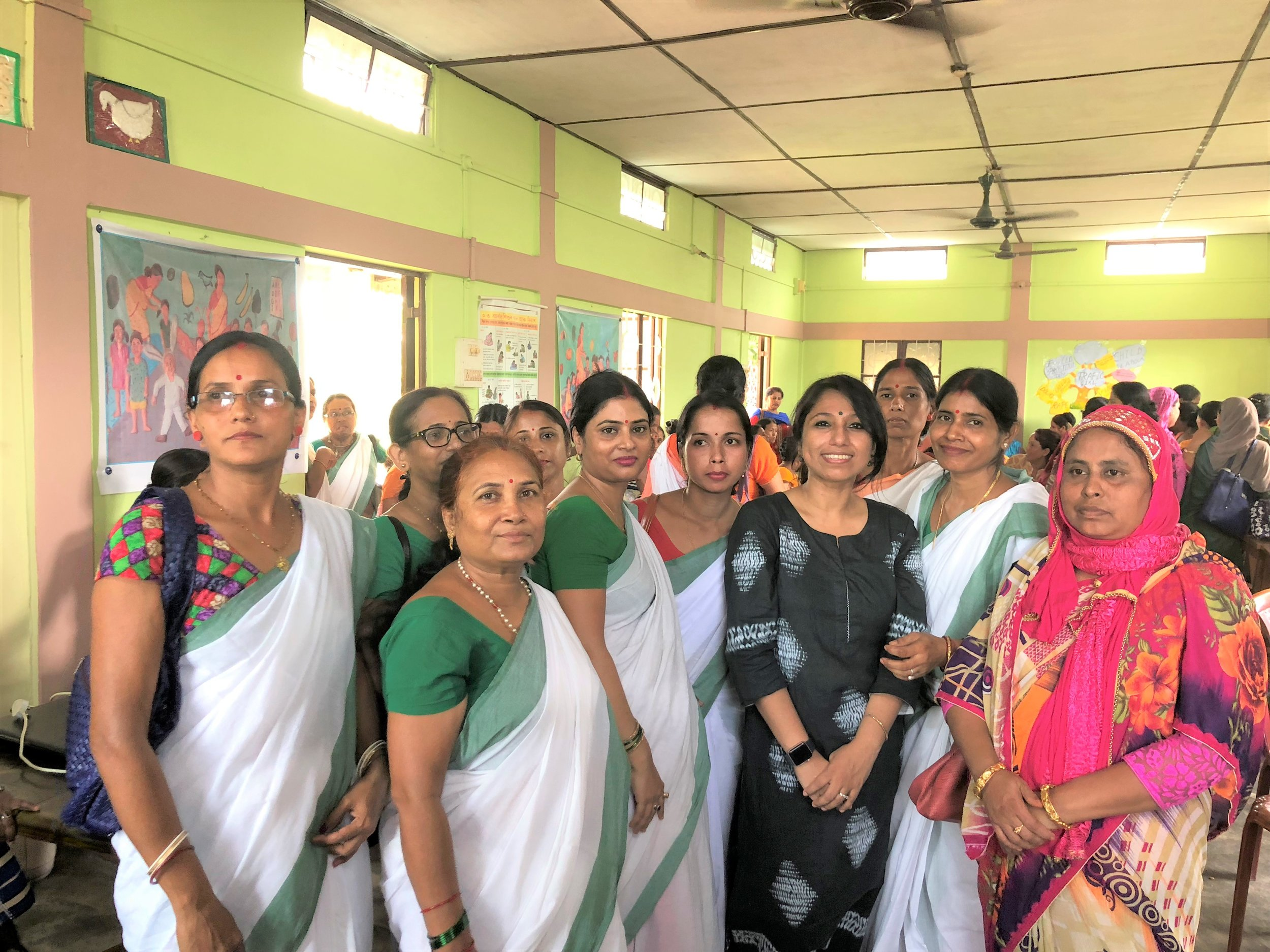 I had enormous rounds of interactions with Anganwadi workers and how they can collectively come together to support Breast Cancer awareness & explain Breast self examination since the Anganwadi workers have direct outreach to the rural sectors – mothers who bring their children to them, women undertaking antenatal care, and other women from various divisions. They have a great opportunity to take the message forward (I will guide them through & through) to the rural India.  To note, many women came forward with issues about Breast health, they themselves suffering or their families going through the same but not opening up or visiting doctors - they were not aware that lumps, discharges were signs & may be Breast cancer & could cause death. An immensely rewarding session, with many women speaking up about their concerns after my presentation.