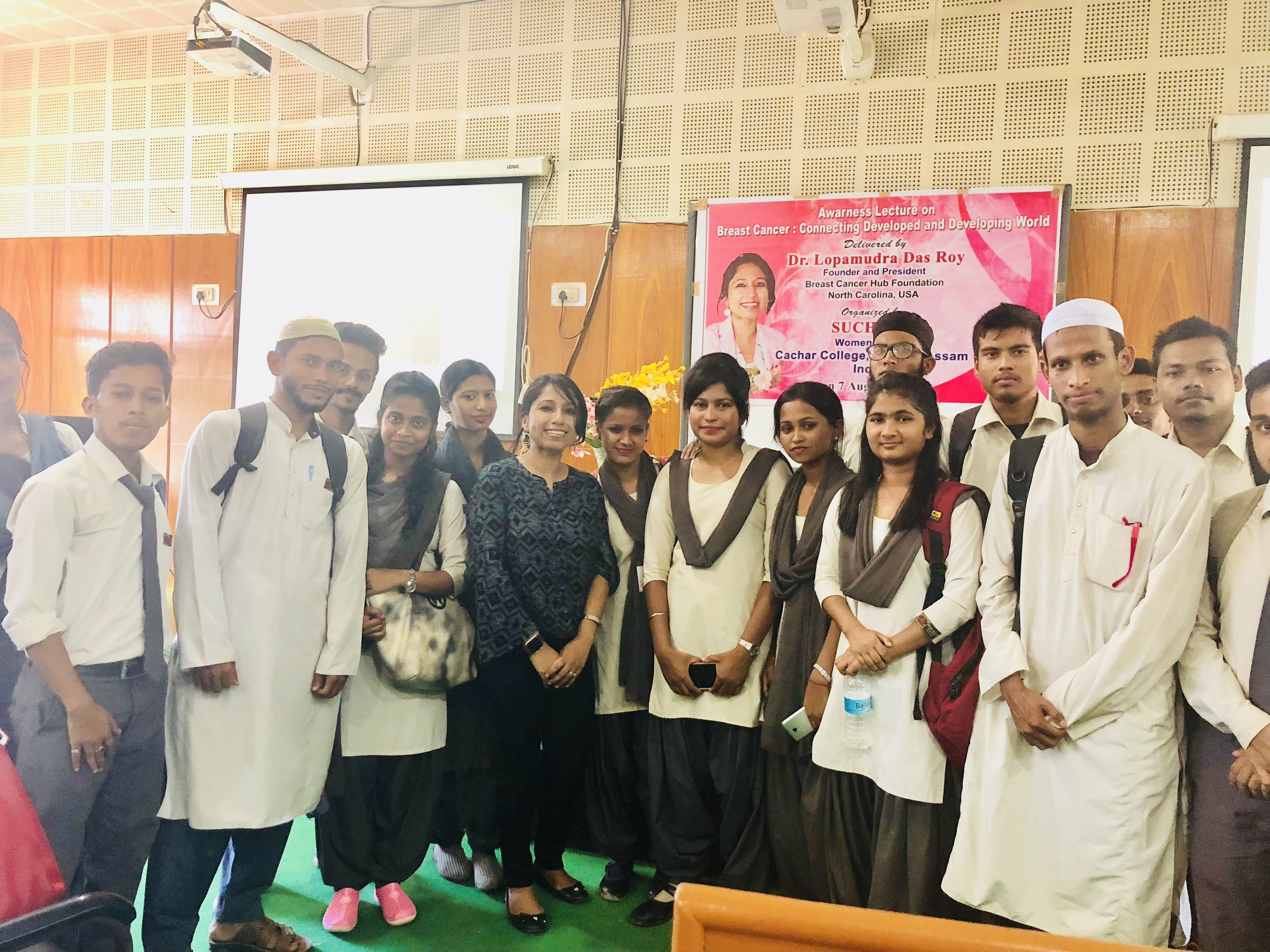 Session 1: Extremely thankful to the Students of Cachar College for your gracious presence and your interest and interactions. Thanks to students for coming forward to interact.