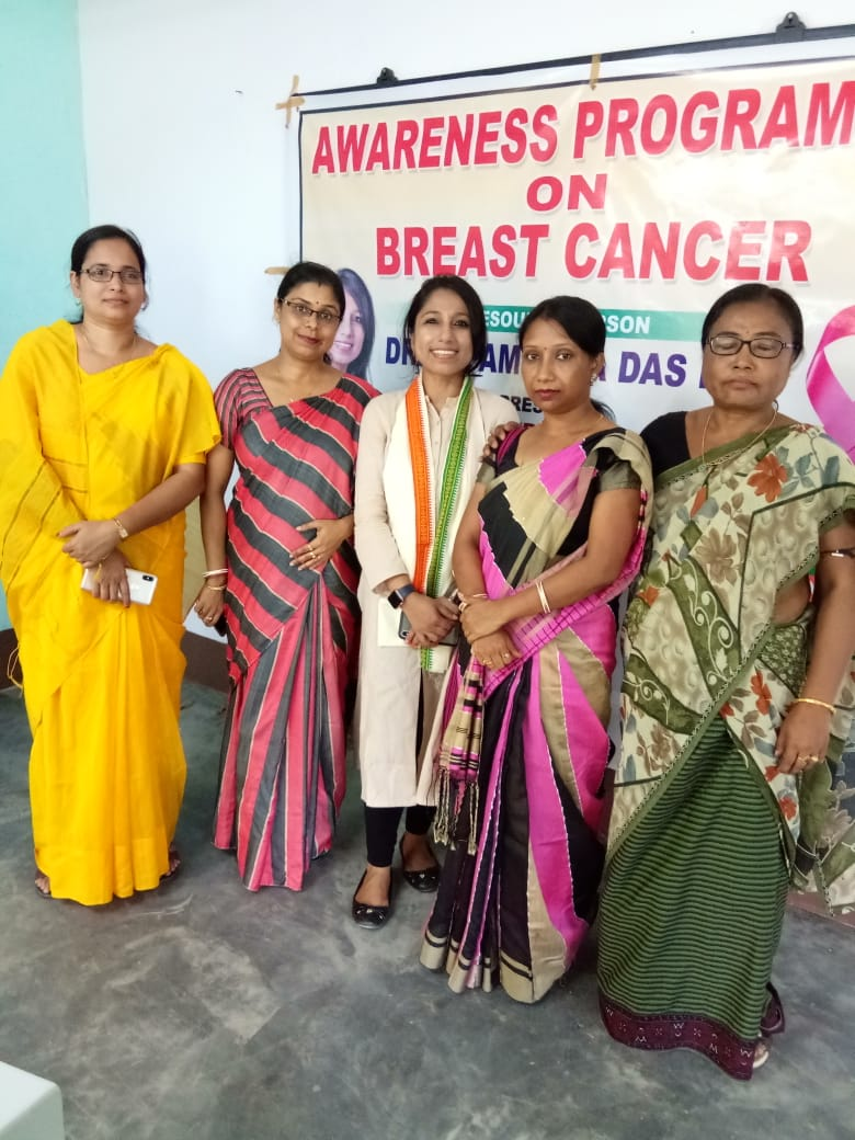 I am so thankful to Dr. Shirtaz Begum, Assistant Prof. Dept. of Philosophy, for supporting the cause and inviting me to Janata College, Kabuganj, Assam, to talk on Breast Cancer Awareness, sincerely appreciate your thoughts & perspectives. I am so thankful to Dr. Sima Ghosh, Associate Prof. & Head, Bengali Dept. and Mrs. Soma Bhattacharjee, Assistant Prof. & Head, Philosophy Dept., for giving me the long distance ride to the College & I thoroughly enjoyed the conversation on our way back & forth, will cherish the moments. I am so grateful to Dr. Sudipta Khersa, Assistant Prof. Bengali Dept., Dr. Usha Rani Sharma, Assistant Prof. Dept. of Manipuri and Dr. Munni Deb Mazumder, Assistant Prof. Dept of English & Ms. Gayotri Singha, Assistant Prof. Dept. of English for their immense support & cooperation
