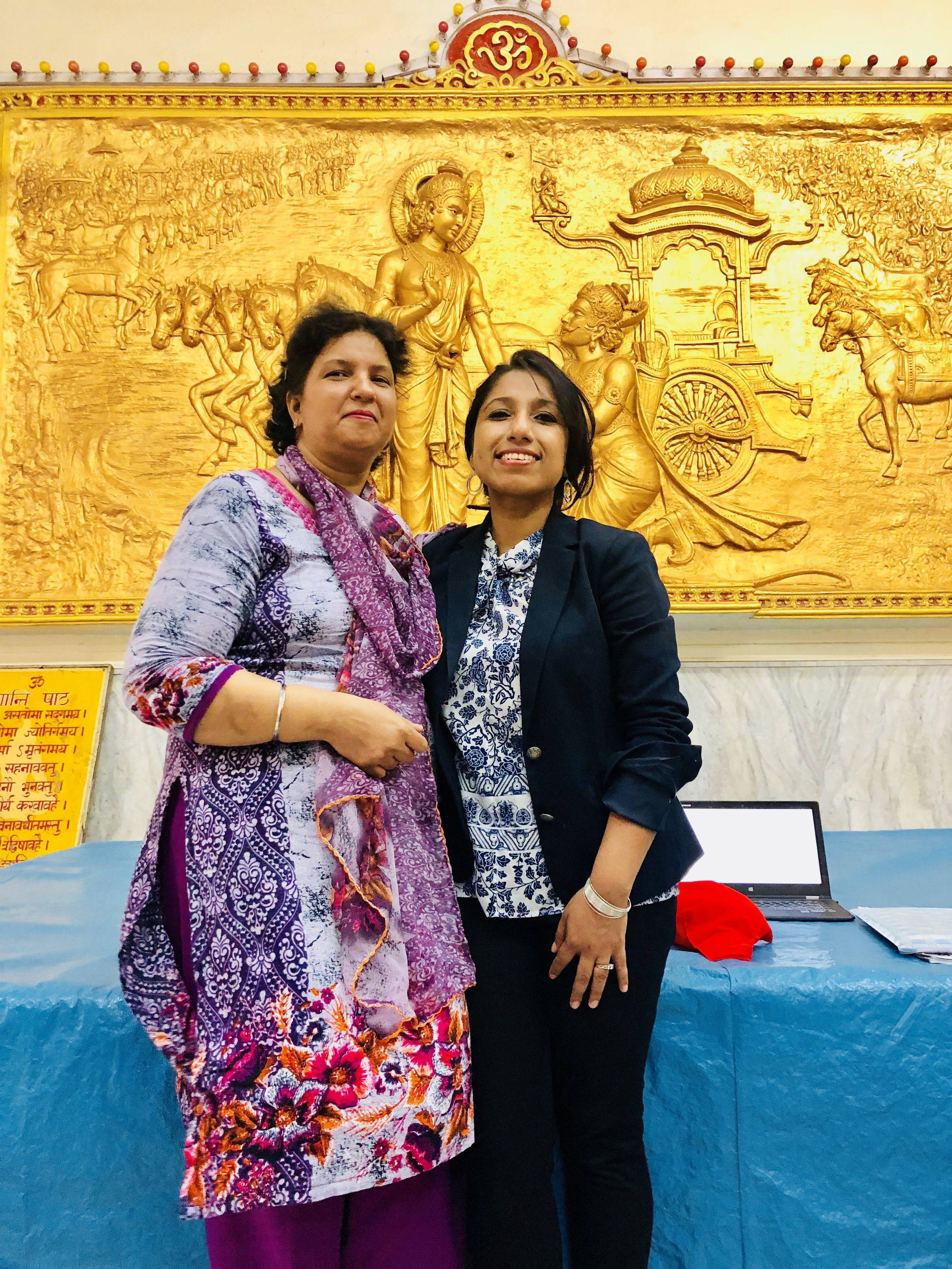 I was so proud of Mrs. Manjit Kaur, who came forward after my presentation, speaking up about her condition for the first time, breaking the barrier of shyness & talking about her journey. Mrs. Kaur was diagnosed with Metastatic Breast Cancer at the age of 43 in 2016. With the help & support of her loving husband, kids, parents, in-laws, members of her joint family, her tremendous believe in God, and her own will power, she proudly is a survivor today. I cannot even express how happy I am today for Mrs. Manjit Kaur who has gathered the courage to come forward and now she is an inspiration for all the women & men with Metastatic Breast Cancer. Hats off to Mrs. Manjit Kaur – a Hero!! Interview with Mrs. Kaur and full story & family photos will be published on BCH website.