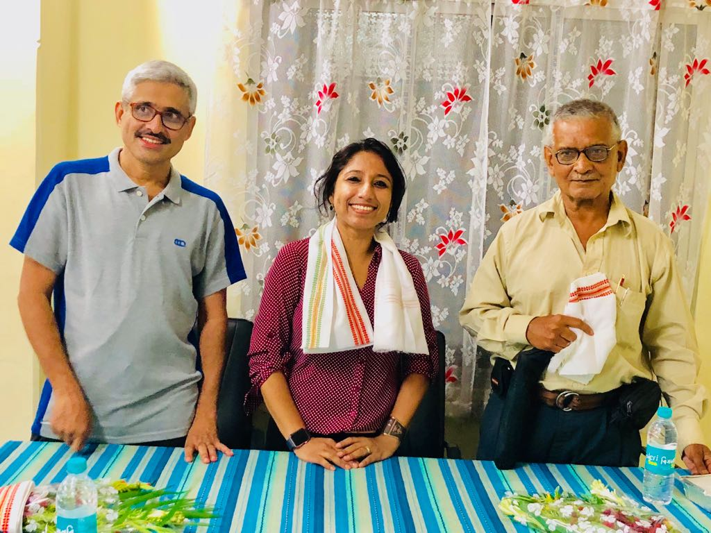 I was so honored that Dr. Bhattacharya invited Dr. Kumar Kanti Das (Dr. Lakhan Das), Director, Kalyani Hospital and Dr. Ravi Kannan, Director, Cachar Cancer Hospital and Research Centre to chair the talk/session. It was a great feeling for me to receive the words of encouragement and positive feedback from Dr. Kannan and Dr. K. K Das, whose selfless service to mankind speaks no bounds.