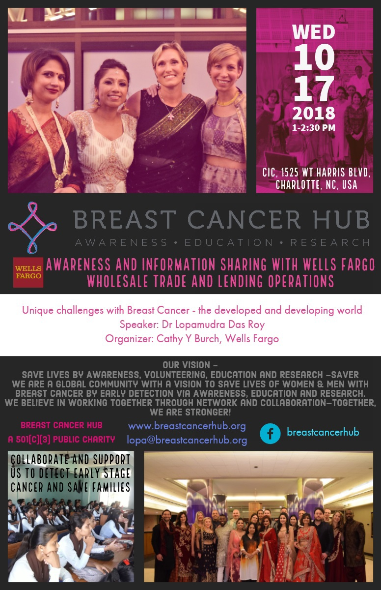 Thank you Sandeep Roy for creating the Flyer for the event!
