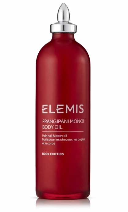 """ELEMIS - frangipani mono body oil""""I've never smelt anything like this, it's a tropical island in a bottle !! I remember going for a massage years ago and the therapist using this, I immediately bought 3 bottles and still have 1 left . . . I probably shouldn't say that but it's oil right ? doesn't go off ? Anyway basically what I'm trying to say is that you don't to use too much. If you are using in colder climates, pop in a sink of warm water before use to de-solidify it'"""