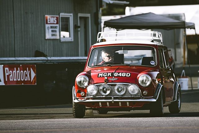 One of two twin engine Mini Coopers built by Neil Preston during 1995-2001.