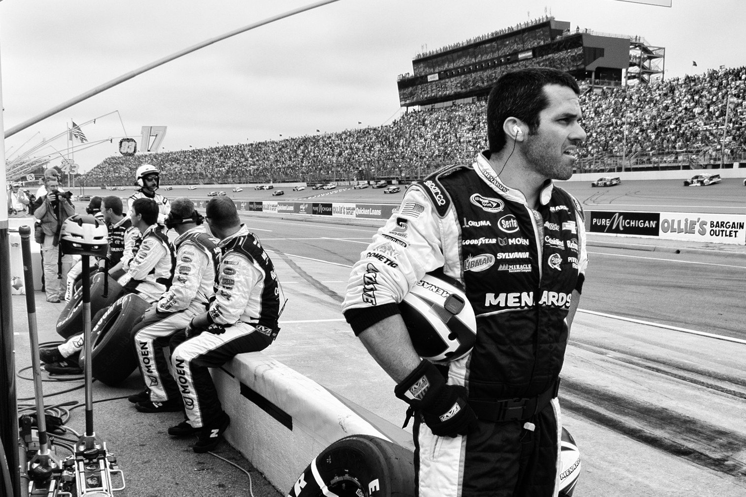 RAY WRIGHT - I've seen the pit crews at work on TV. I thought I knew what I was seeing. I didn't.