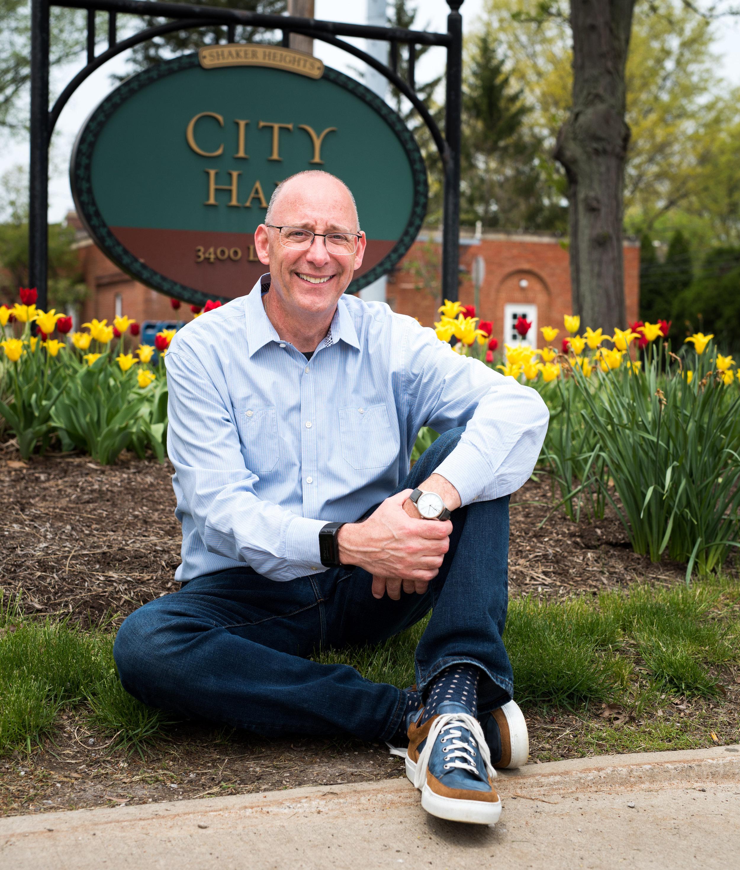 Shaker Heights Mayor David Weiss