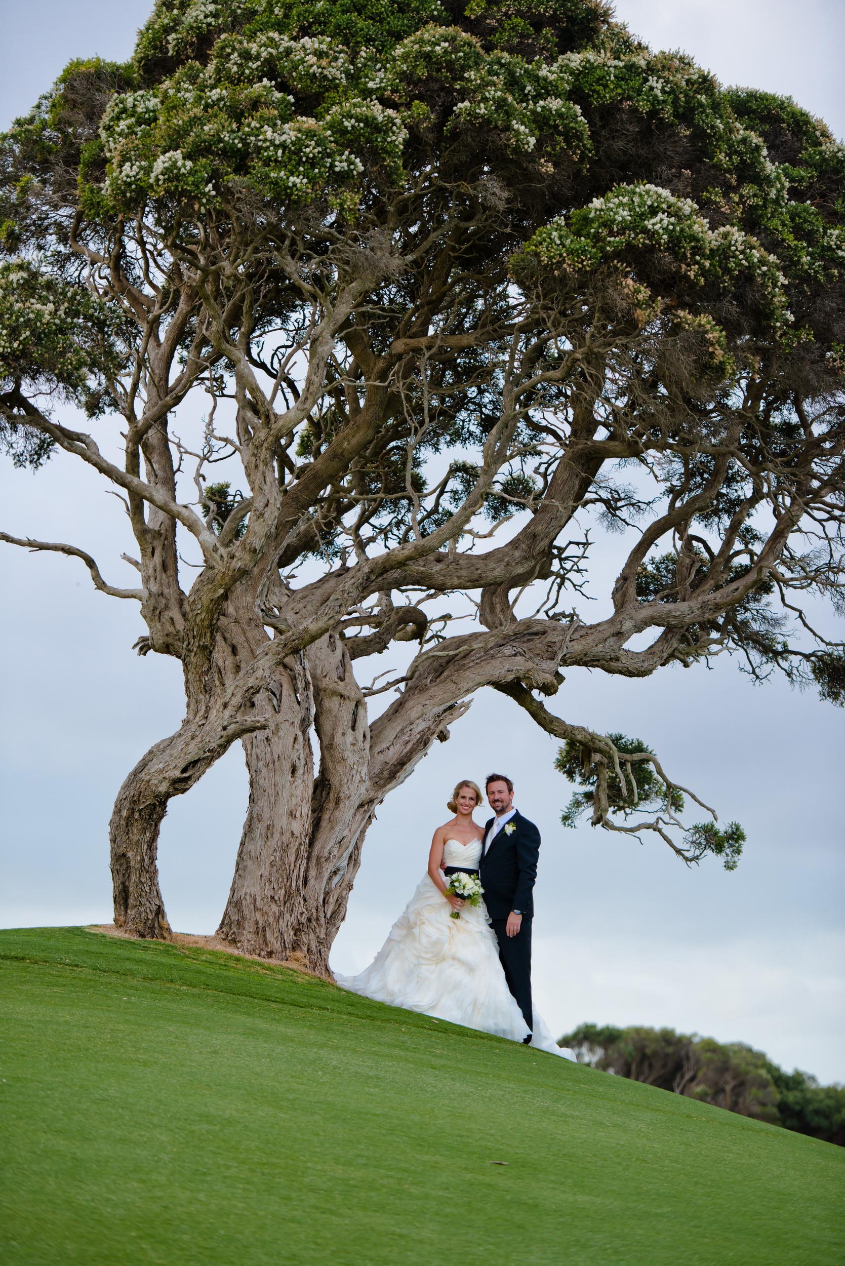 Cape shanck National golf course wedding