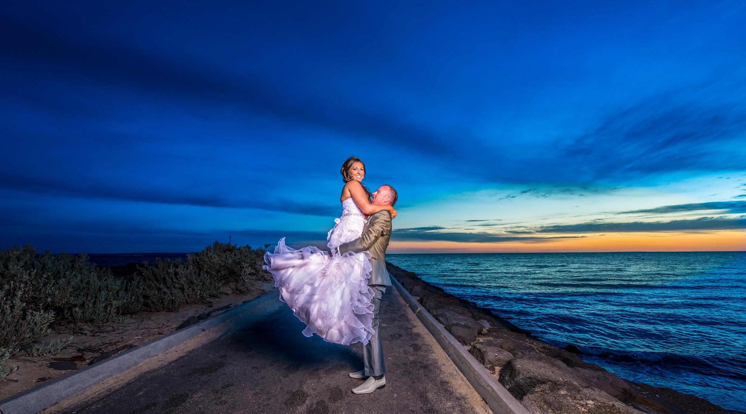 Wedding at Mordialloc beach