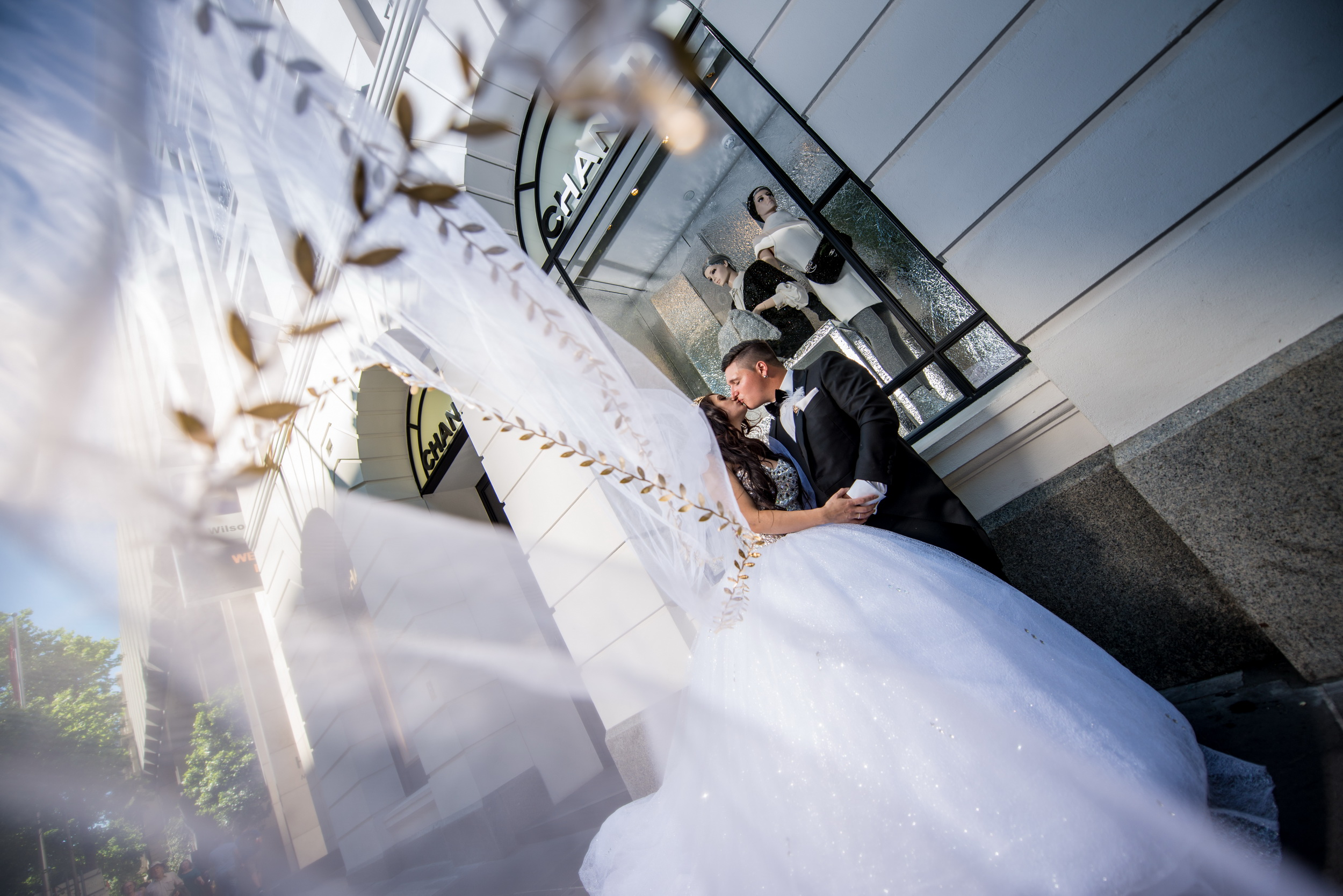 Wedding images from Melbourne CBD