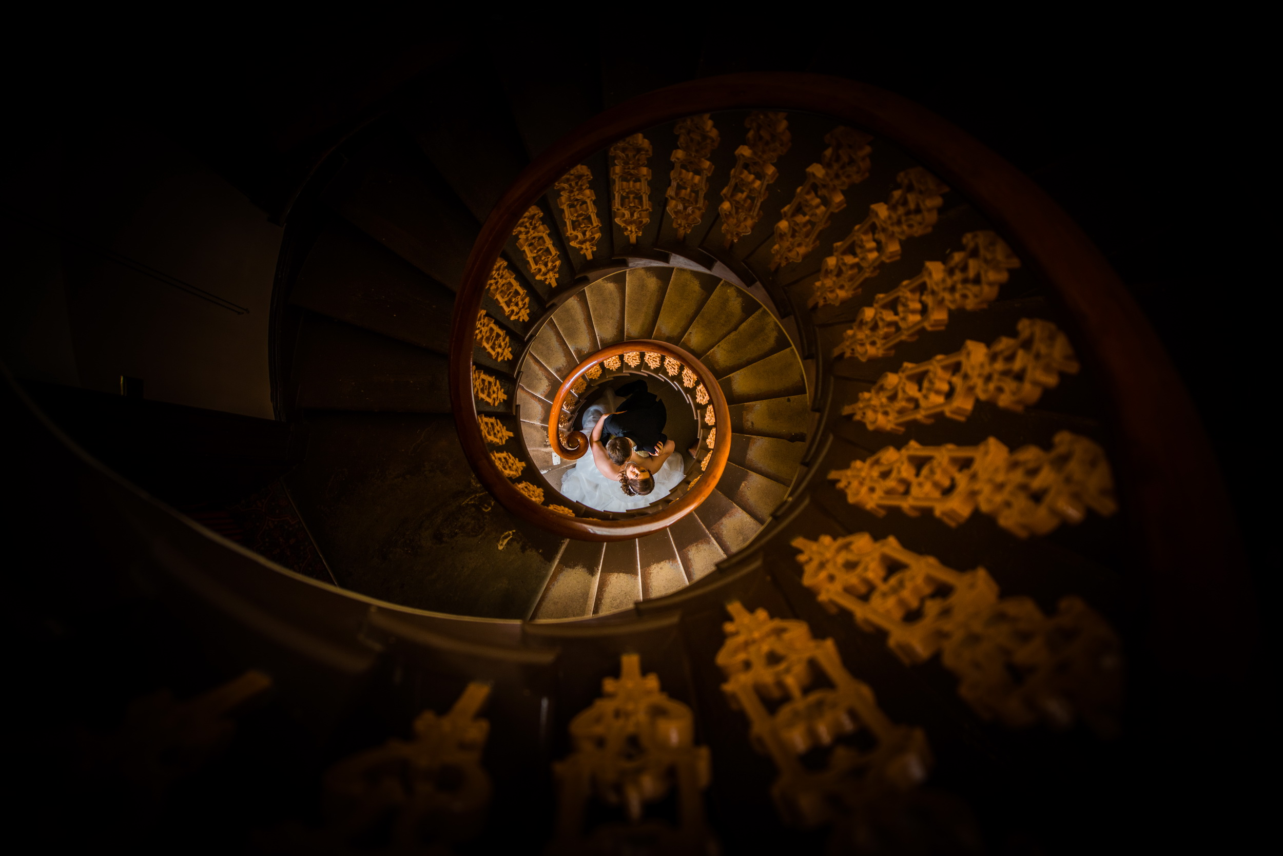 Overton castle magical stairs