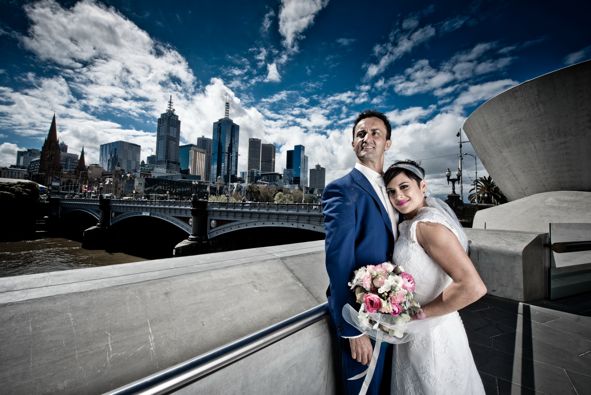 Melbourne CBD Wedding