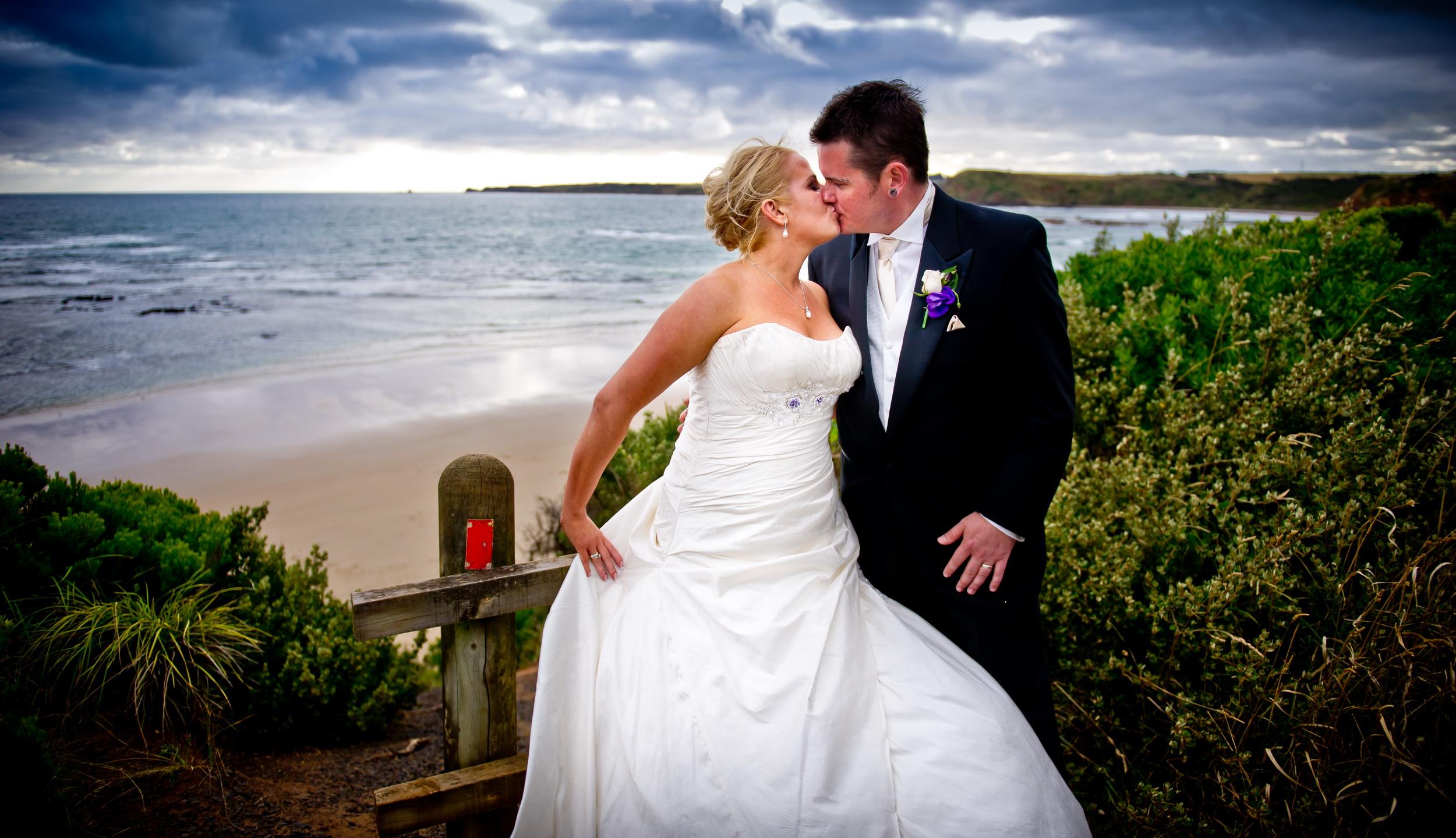 Bri & Glen - Phillip Island Wedding Photography