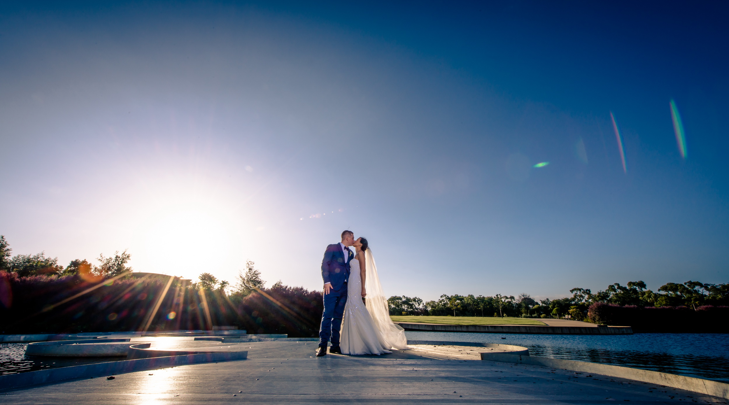 Kiera & Ben - Wedding @ Botanical Gardens Cranbourne