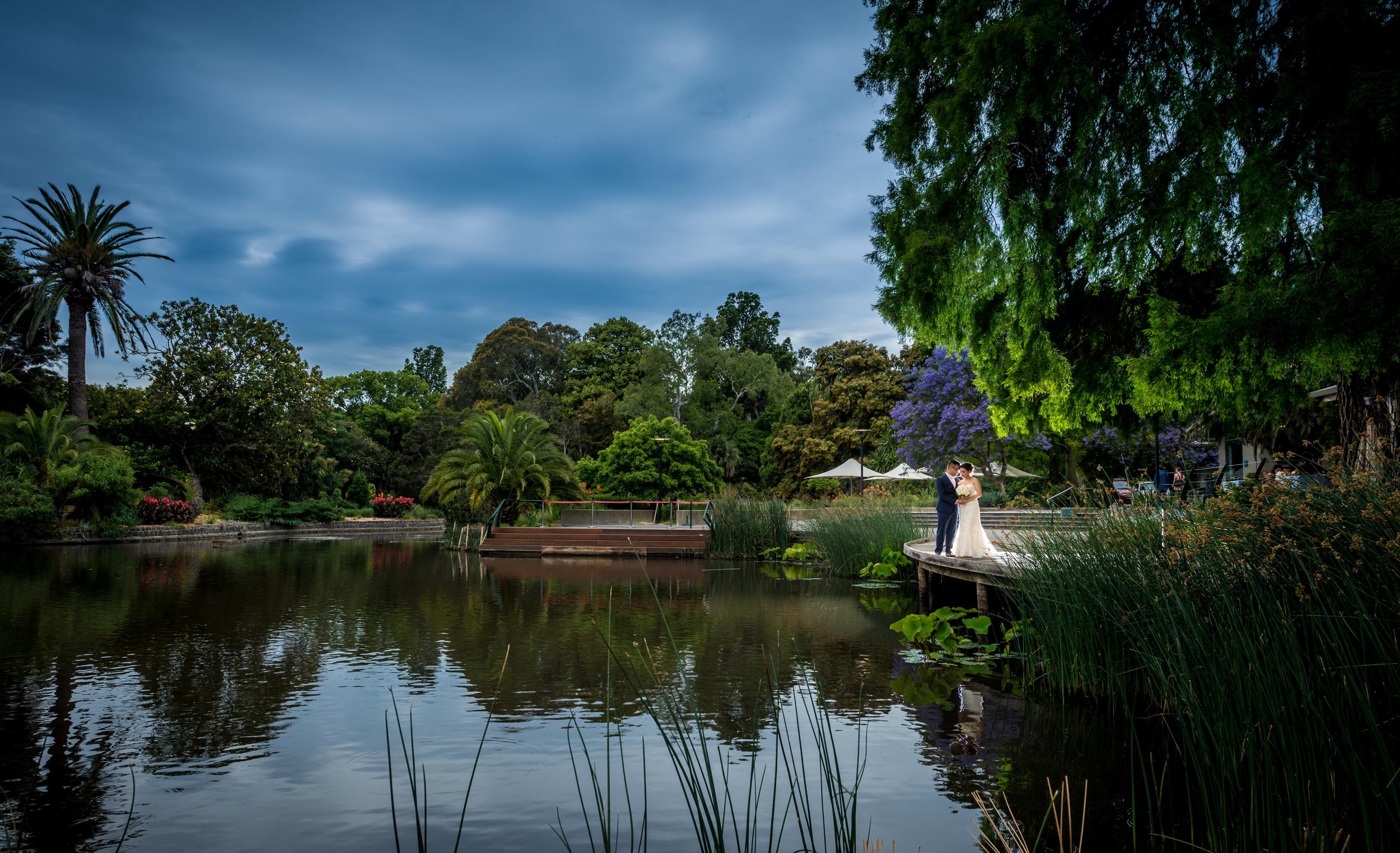 Dominique & Mark - The Terrace wedding @ Royal Botanic Gardens Melbourne