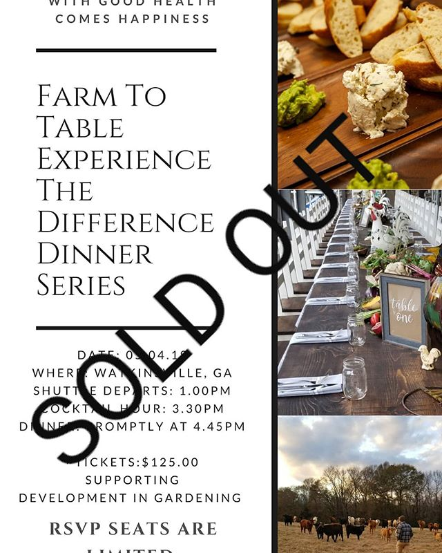 Another sold out event! Looking forward to next week!