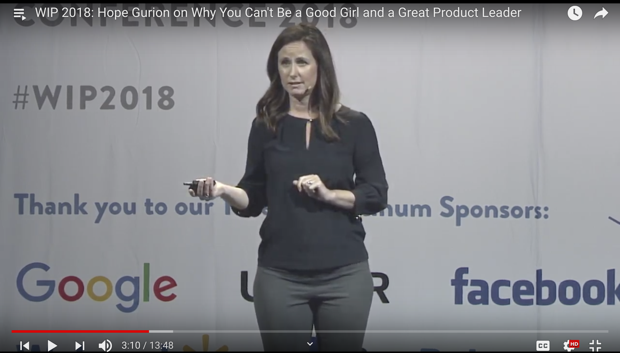 WHY I CAN'T BE A GOOD GIRL AND GOOD PRODUCT LEADER