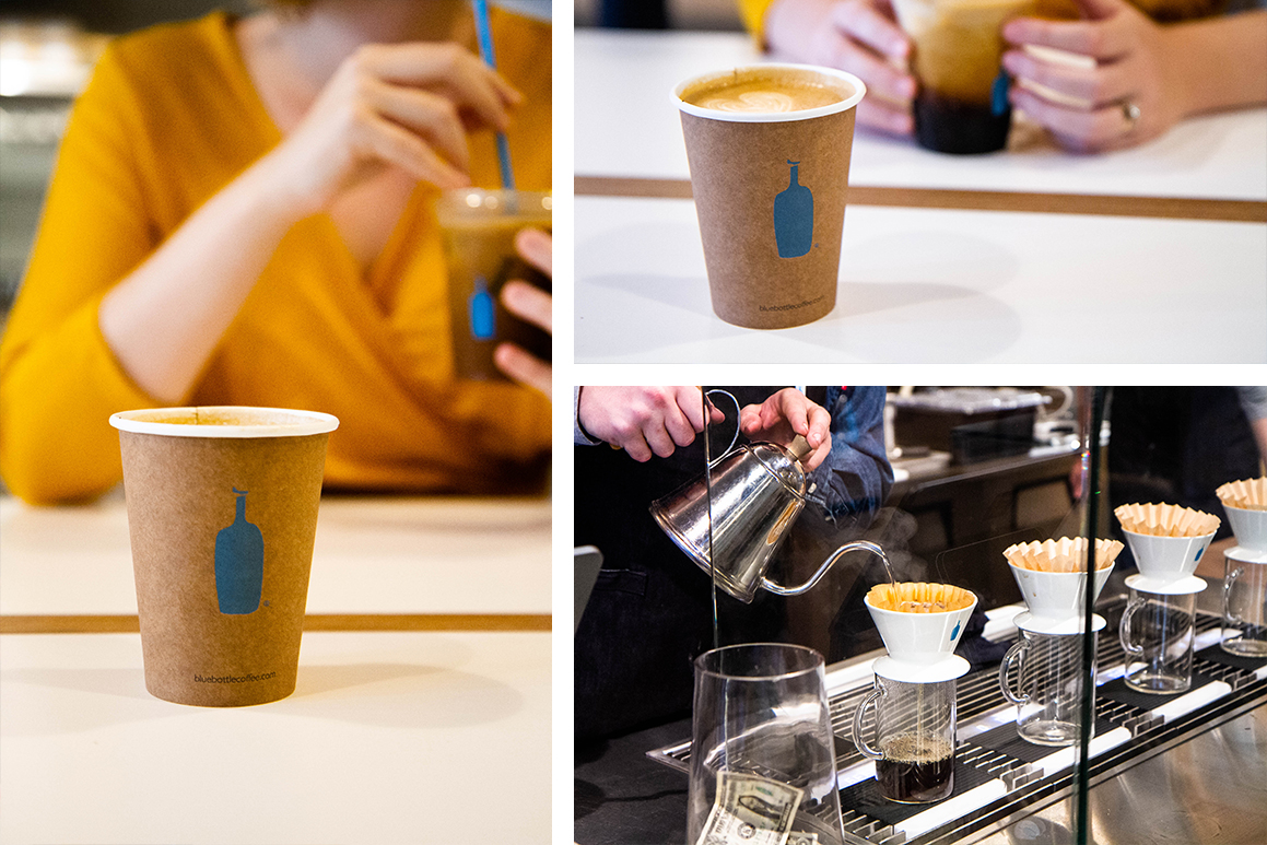 Blue Bottle Coffee in Oakland, CA