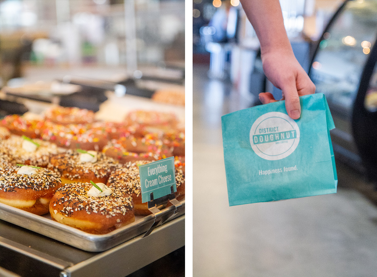 6 Places to Eat in DC - Union Market - District Donuts
