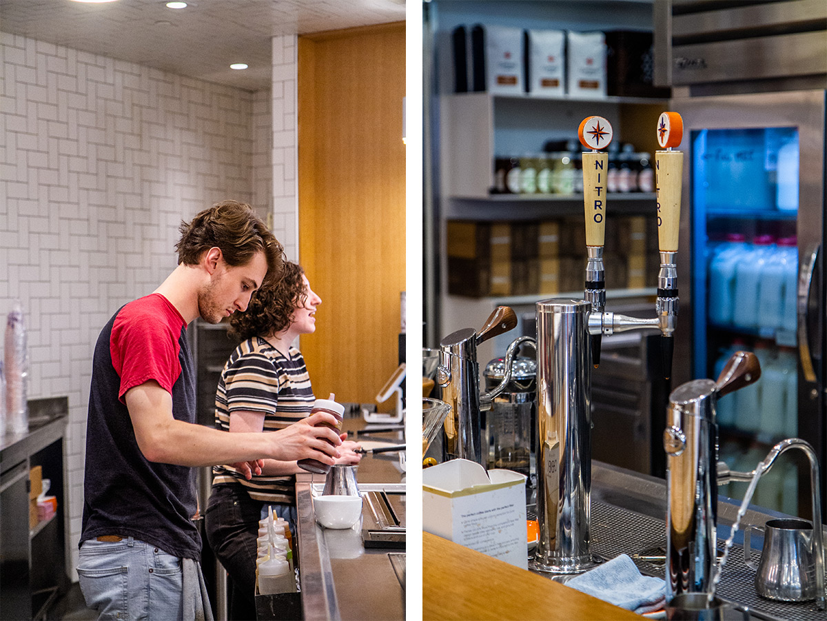 4 Places to Get Coffee in DC - Compass Coffee