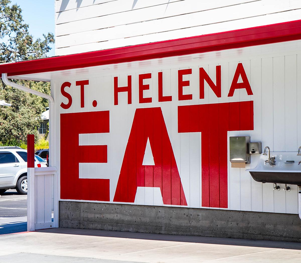 San Francisco Food - Gott's - St. Helena, California
