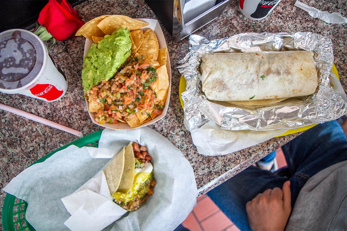 San Francisco Food - La Taqueria